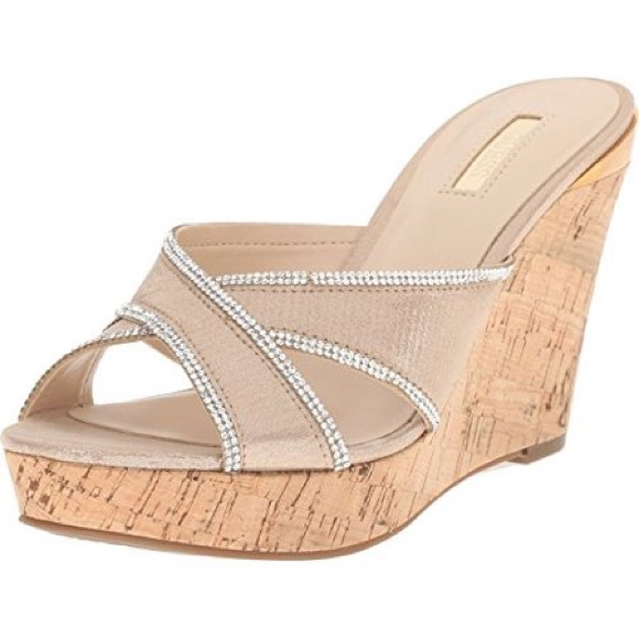 77e77dfea7e Guess Shoes - GUESS Eleonora Wedge Sandal 8.5